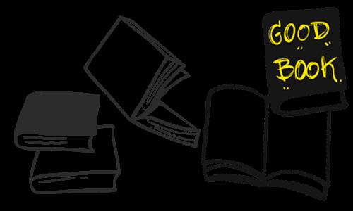 小説や実用書、専門書からマンガや雑誌、児童本など幅広い本を揃えていきます。